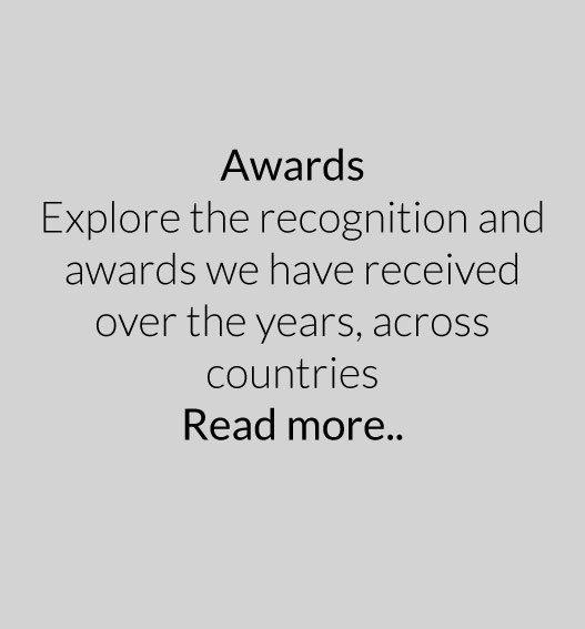 Explore the recognition and awards we have received over the years.
